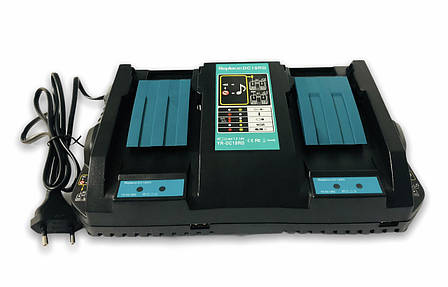Зарядное устройство Makita DC18RD li ion 2 акб, фото 2