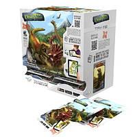 Игровой набор Dino Mundi серии Парк динозавров 3D реальность (фигурка, 2 карточки, 12 видов) TT-DI24