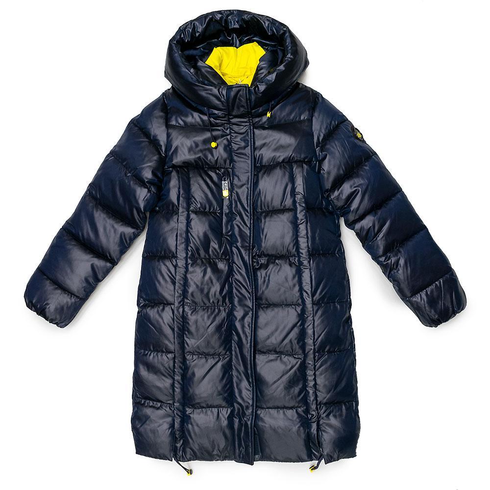 Пальто зимове для дівчаток Jane 152 синє 981298