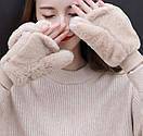 Оригинальные крутые варежки митенки рукавички мітенки, фото 2