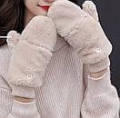 Оригинальные крутые варежки митенки рукавички мітенки, фото 3