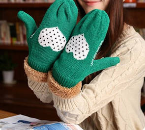 Теплі дитячі рукавиці