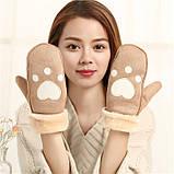 Оригинальные крутые детские варежки рукавички, фото 4