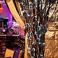 Гирлянда на ёлку Alphatrade, LED 500, 30 м, 500 диодов, прозрачный провод, цвет белый теплый, + статика Холодный белый, фото 2