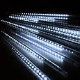 Гирлянда Тающие сосульки Alphatrade, 8 шт по 50 см, 3 м,  холодный белый, фото 2