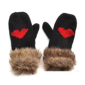 В'язання пов'язані рукавички в'язані рукавиці