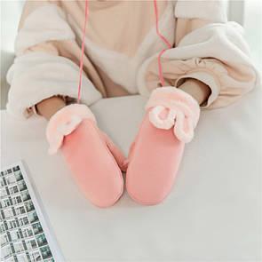 Оригінальні круті рукавиці зайчики рукавички