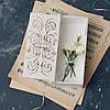Купюрница деревянная с вензелями (шкатулка), фото 2
