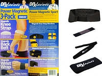 Магнитный пояс и ленты доктора Левина Power Magnetic 3-Pack Sport