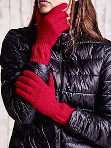 Длинные вязанные перчатки