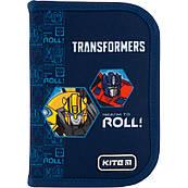 Пенал школьный твердый Kite Transformers 1 отделение, 1 отворот TF20-621
