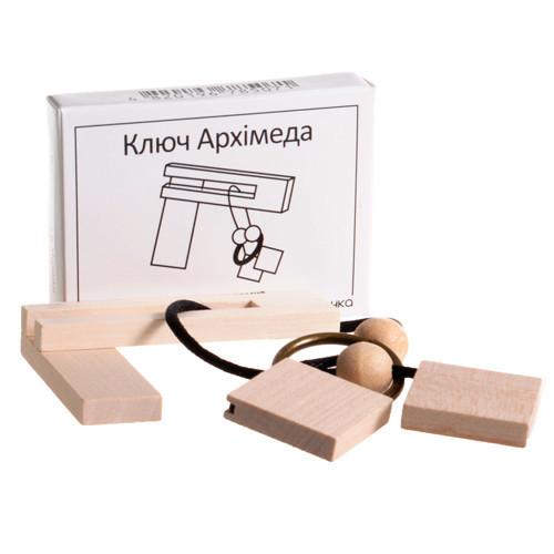 Мини головоломка Ключ Архимеда укр. Заморочка 5007