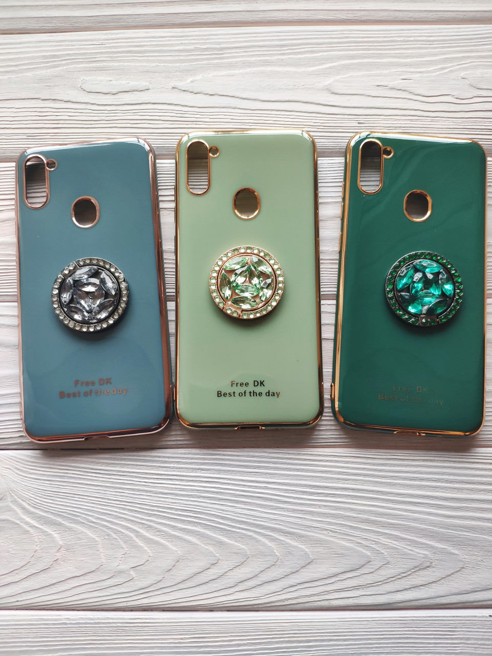 Чохол Ring Stones для Samsung Galaxy A11 2020 / A115F силіконовий бампер (різні кольори)