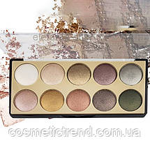 Палетка 10 тіней для повік DoDo Girl Diamond Eyeshadow B3069/02, фото 3