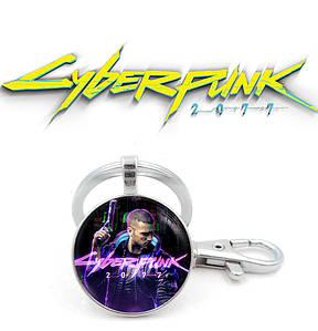 "Брелок Киберпанк 2077 ""Powerful"" / Cyberpunk 2077"