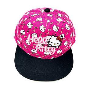 Снепбэк hello kitty детская бейсболка кепка панамка шапка головные уборы