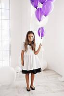 Платье детское с короткими рукавами