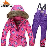 Детский горнолыжный костюм для девочки