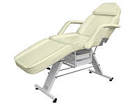 Кушетка косметологічна для салону краси мод 202 крісло кушетка для нарощування вій для депіляції Бежева