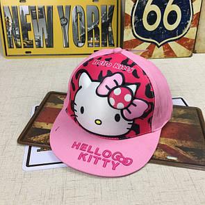 Снепбэк 3d hello kitty детская бейсболка кепка панамка шапка головные уборы