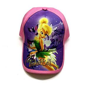 Кепка tinker bell фея динь-динь детская бейсболка панамка шапка головные уборы