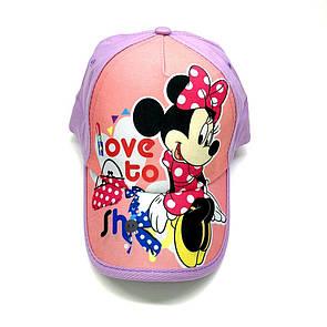 Кепка minnie mouse детская бейсболка панамка шапка головные уборы
