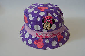 Детская панама minnie mouse панамка