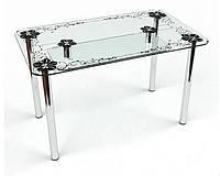 Стол обеденный из стекла модель Скиф
