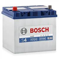 Аккумулятор  BOSCH S4025 60Ah, левый (+), Азия