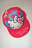 Снепбэк 3D Hello Kitty детская бейсболка Кепка панамка шапка головные уборы, фото 3