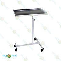 Анестезиологический столик (стол анестезиолога передвижной) на колесах СА Завет