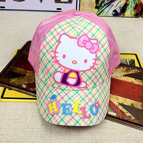 Кепка Hello Kitty детская бейсболка панамка шапка головные уборы