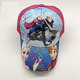 Кепка Frozen Disney детская бейсболка панамка шапка головные уборы, фото 2
