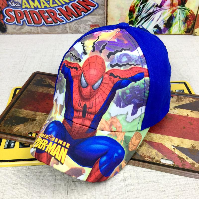 Кепка Spider man детская бейсболка панамка шапка головные уборы