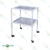 Столик медицинский инструментальный специальный (стол для медицинских инструментов) на колесах СИС Завет