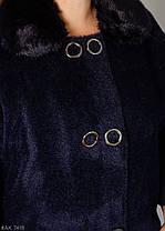 Элегантная женская куртка с альпаки 52-58 большемерит, фото 2