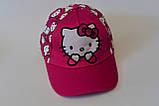 Кепка hello kitty хелло китти детская бейсболка панамка шапка, фото 3