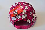 Кепка hello kitty хелло китти детская бейсболка панамка шапка, фото 5