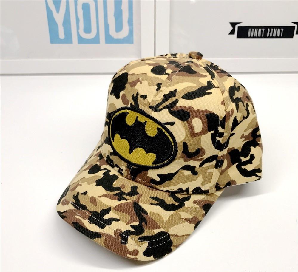 Кепка batman бэтмен детская бейсболка панамка шапка
