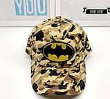 Кепка batman бэтмен детская бейсболка панамка шапка, фото 2