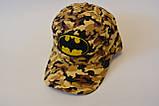 Кепка batman бэтмен детская бейсболка панамка шапка, фото 3