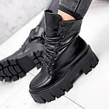 Ботинки женские Joanna черные ЗИМА 2473, фото 2