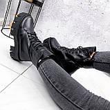 Ботинки женские Joanna черные ЗИМА 2473, фото 3
