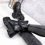Ботинки женские Joanna черные ЗИМА 2473, фото 4
