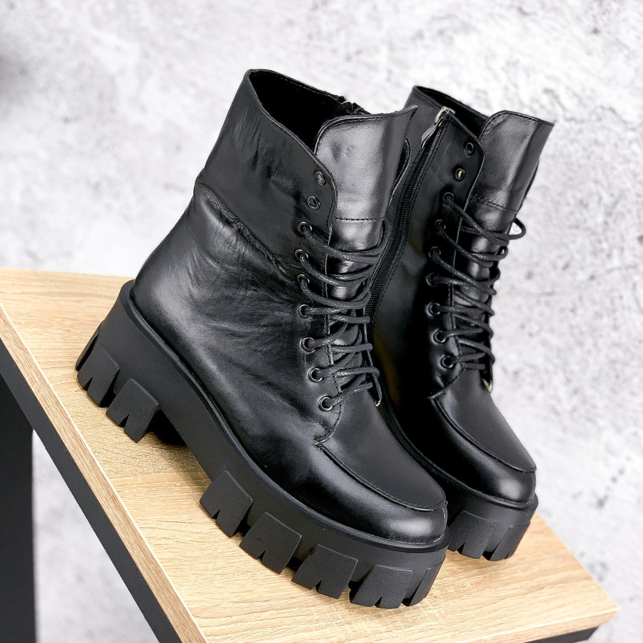 Ботинки женские Joanna черные ЗИМА 2473