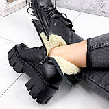 Ботинки женские Joanna черные ЗИМА 2473, фото 5