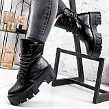 Ботинки женские Joanna черные ЗИМА 2473, фото 6