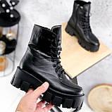 Ботинки женские Joanna черные ЗИМА 2473, фото 7