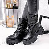 Ботинки женские Joanna черные ЗИМА 2473, фото 10