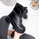 Ботинки женские Joanna черные ЗИМА 2473, фото 8